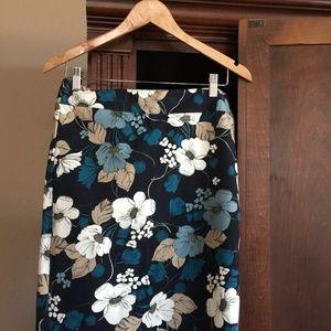 Ann Taylor Stretch Pencil Skirt